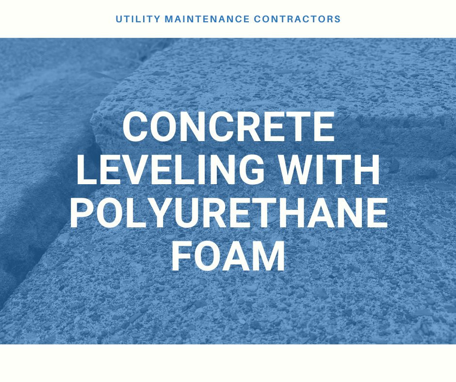 Foam Concrete Leveling with Polyurethane